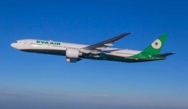 EVA Air Boeing 777 Milan