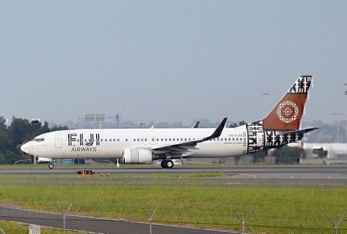 fiji airways ends adelaide