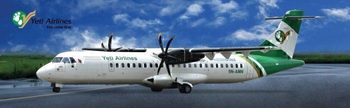 Yeti Air ATR72 Skids Off Runway Closing Nepal's Only International Airport
