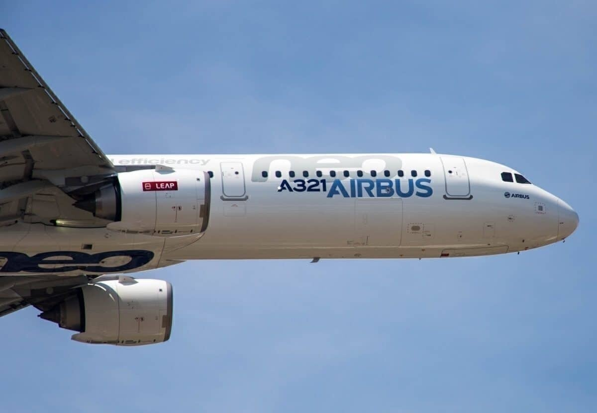 Airbus A321neo front end