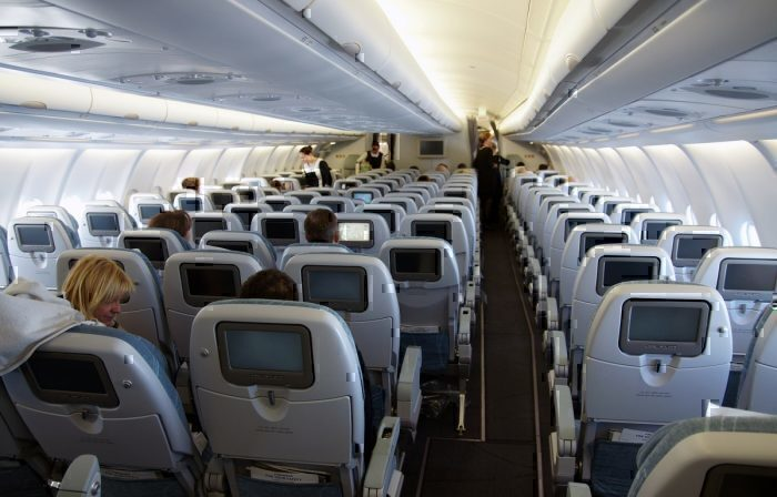 Economy class deats on a Finnair A330-300