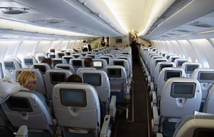 Economy class deats on a Finnair A330-300