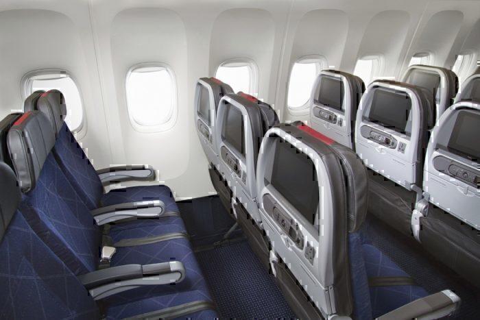 AA 777 interior