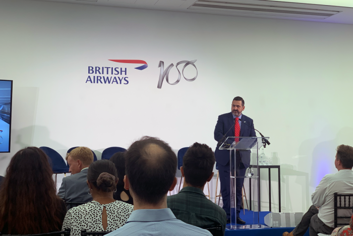 BA100, Alex Cruz, British Airways