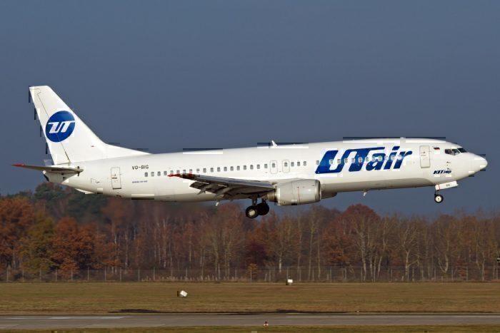 UTair Boeing 737-800 air conditioning