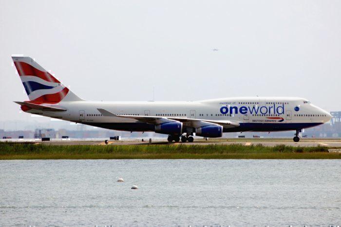 British Airways 747 (Oneworld livery)