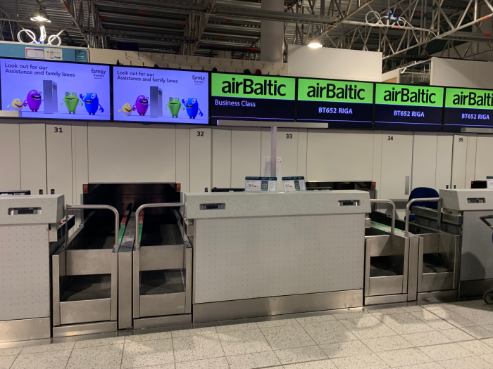 airBaltic Boeing 737 Business Class