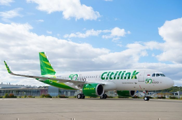 Citilink A320 airbus