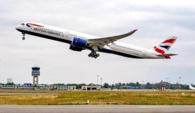 British Airways Airbus A350 Delivery postponed