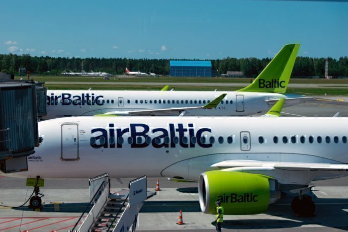 airBaltic, Heavy Hand luggage