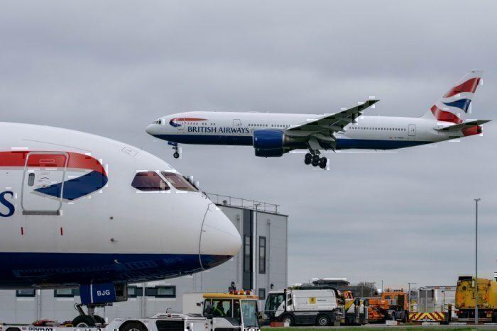 British Airways Boeing 777 Club World