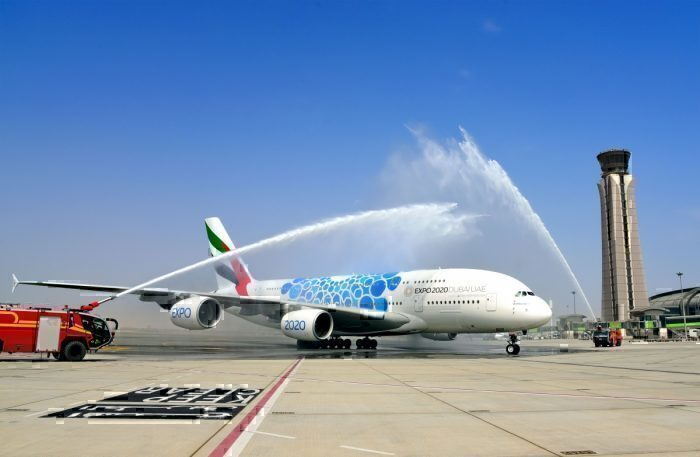 Emirates Airbus A380 Shortest Flight Dubai Muscat