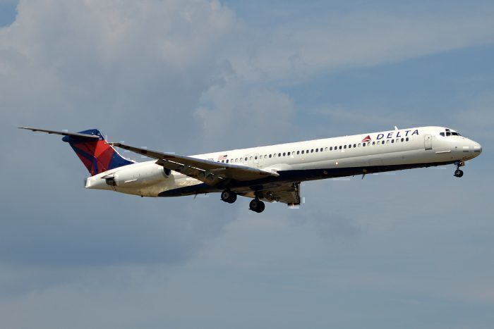 Delta Air Lines MD-88 retirement