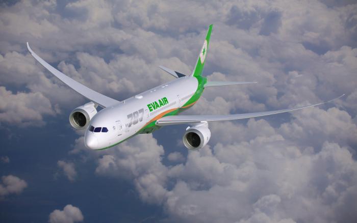 EVA Air dreamliner
