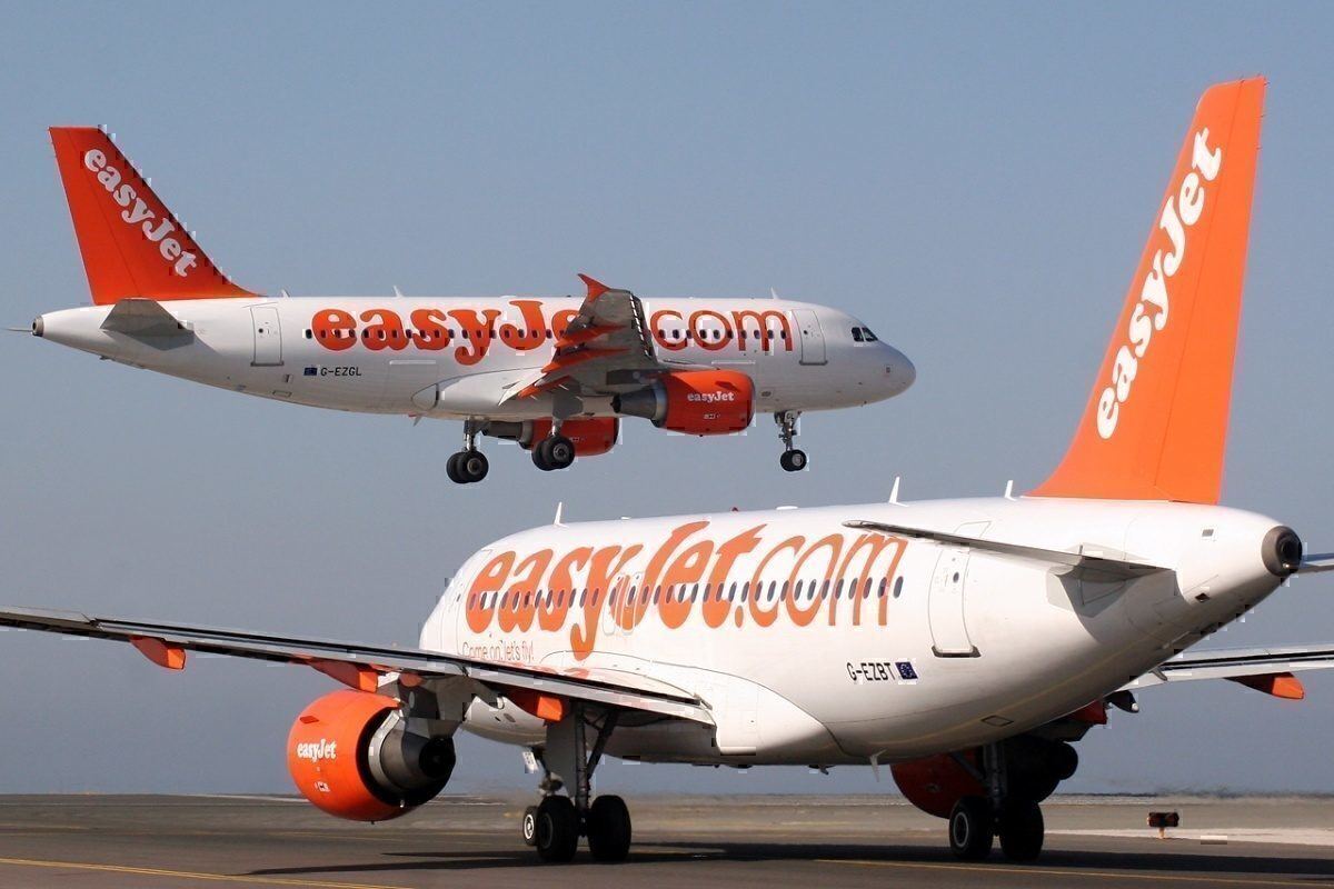 Easryjet A320s at Faro Airprot