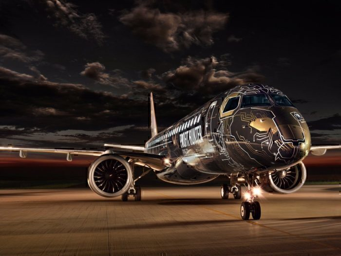 Embraer E2 techlion