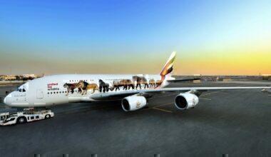 Emirates wildlife livery
