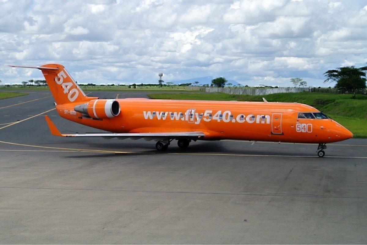 Fly540 CRJ100