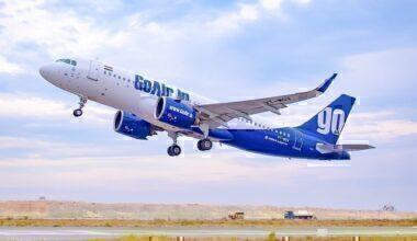 GoAir-50th-A320