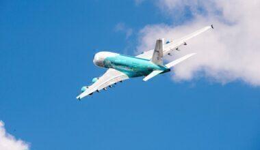 Hi Fly A380 in flight