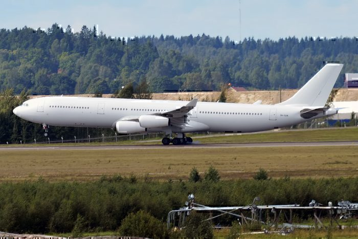 Hi Fly Airbus A340 Soaks Runway In Fuel During Emergency