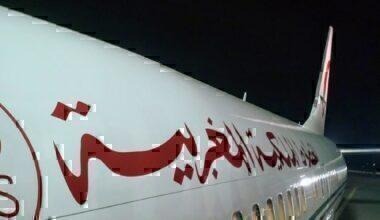 RAM 737-700 boarding