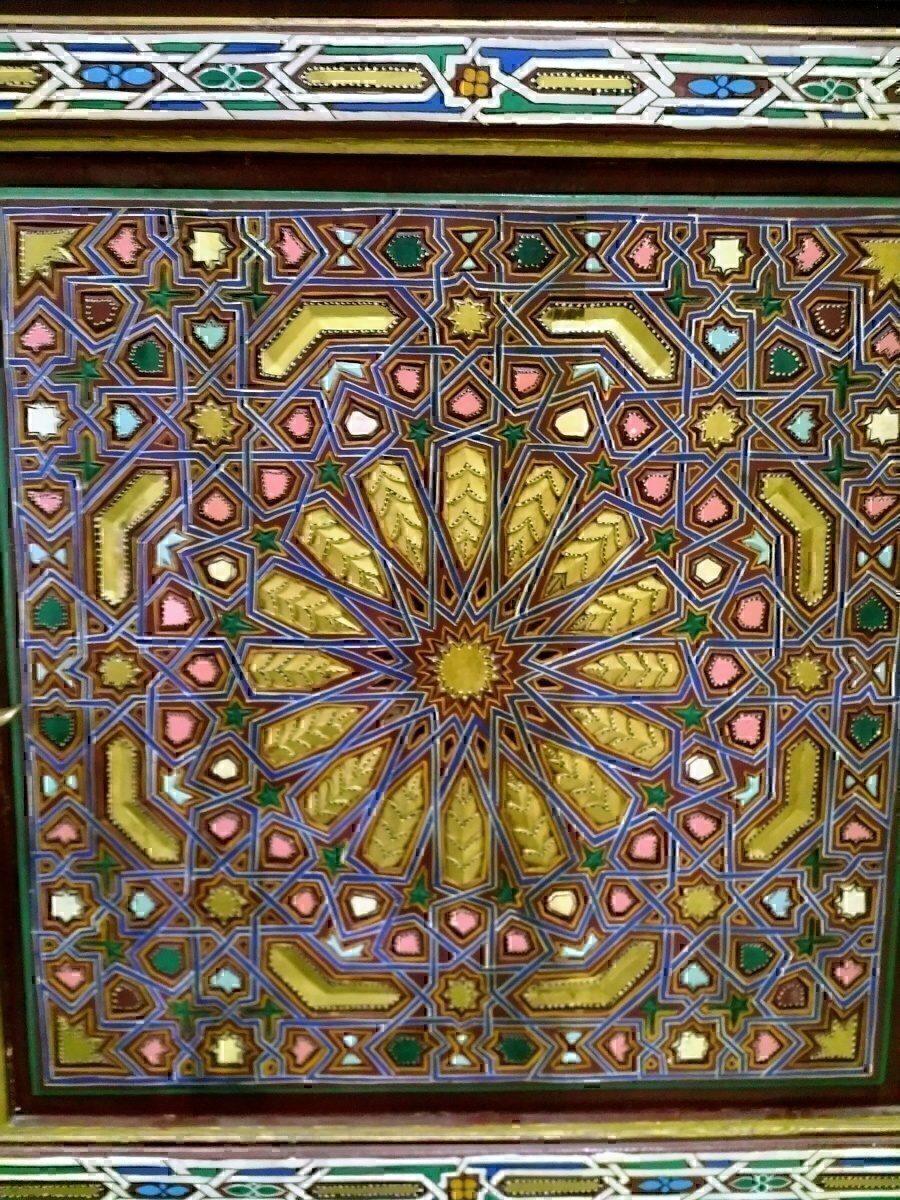 AGA lounge door mosaic