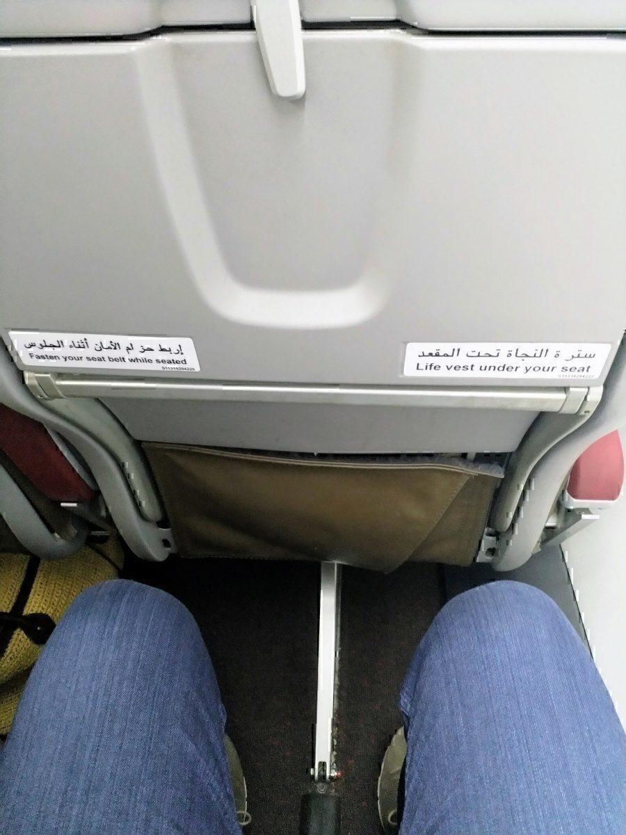 RAM ATR 72 legroom