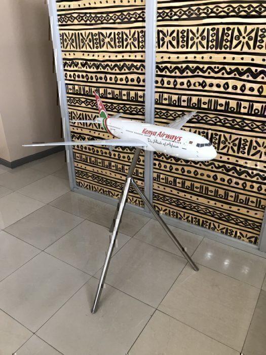 Kenya Airways 777 Model