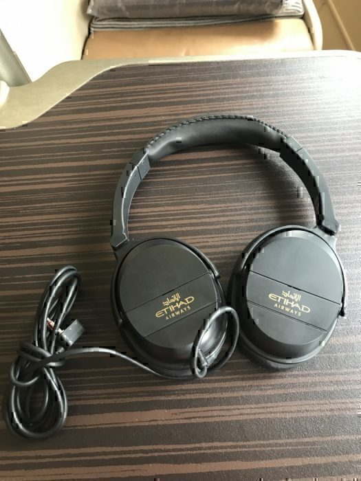 Etihad headphones