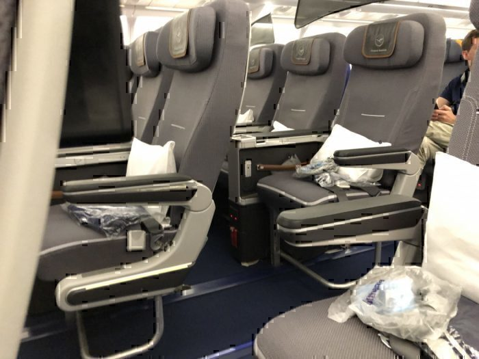 Lufthansa Premium Economy Seat