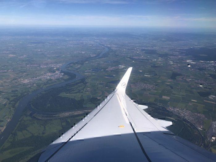 frankfurt from air