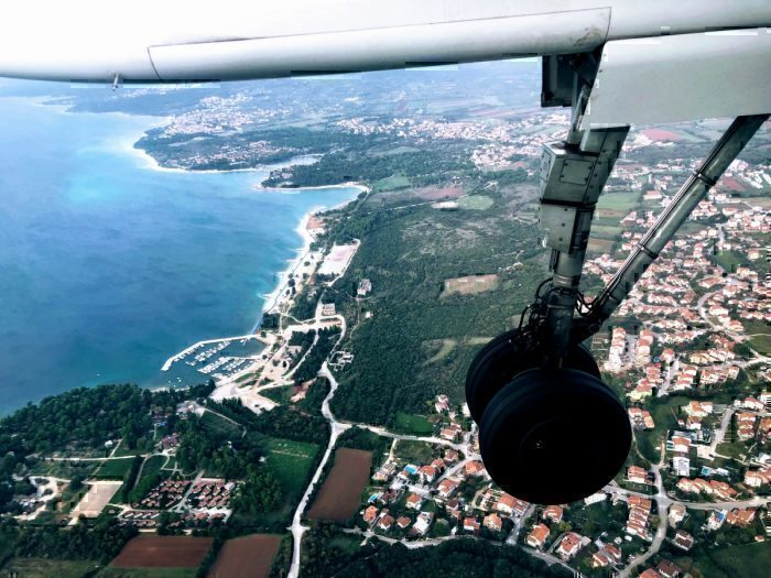 Croatia from air
