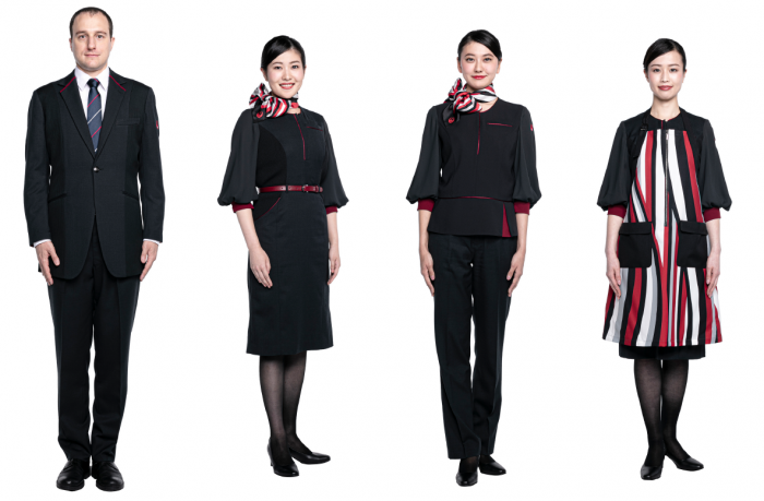 JAL New Uniforms