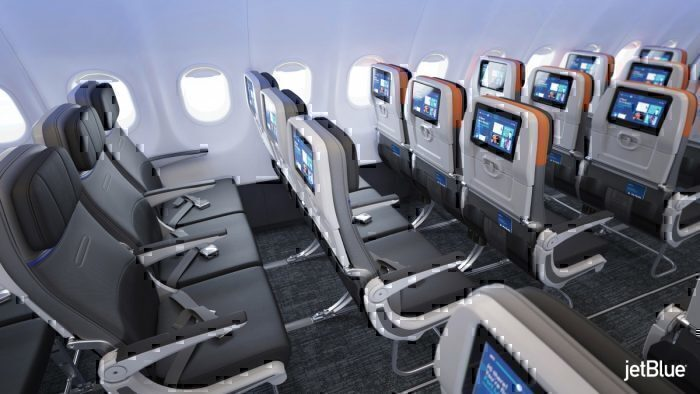 Jetblue new A320 cabin