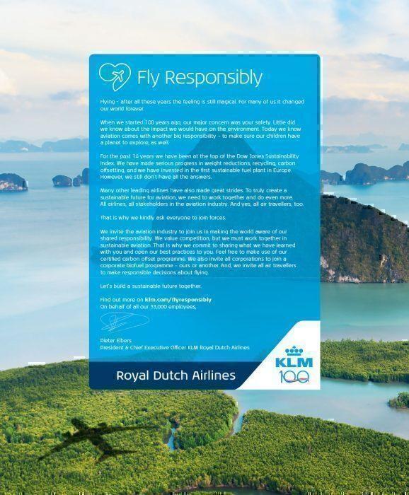 KLM Open Letter