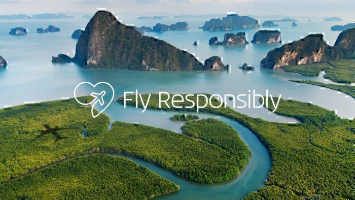 KLM fly responsibly campaign