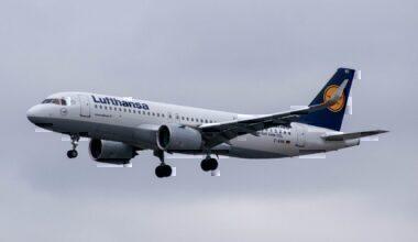 Lufthansa landing