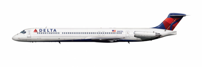 Delta Air Lines MD-88 Engine Failure