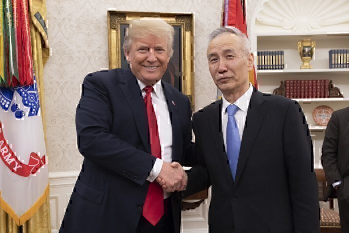 President Trump Talks Trade with the Vice Premier of the People's Republic of China, Liu He