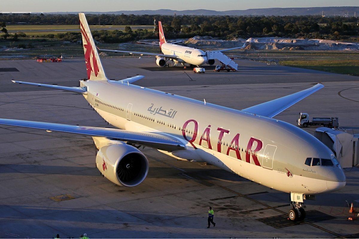 Qatar Airways 777