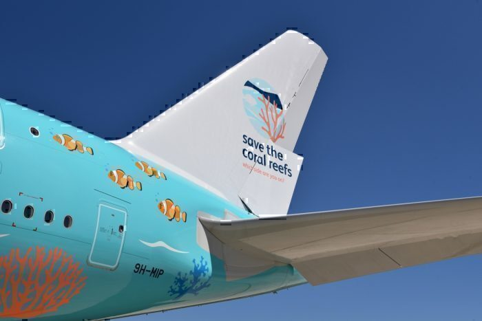 Save the coral reefs livery