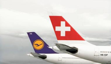 Swiss and Lufthansa