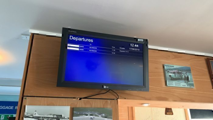 Flight Review: Landing On The Beach In Barra, Scotland With Loganair