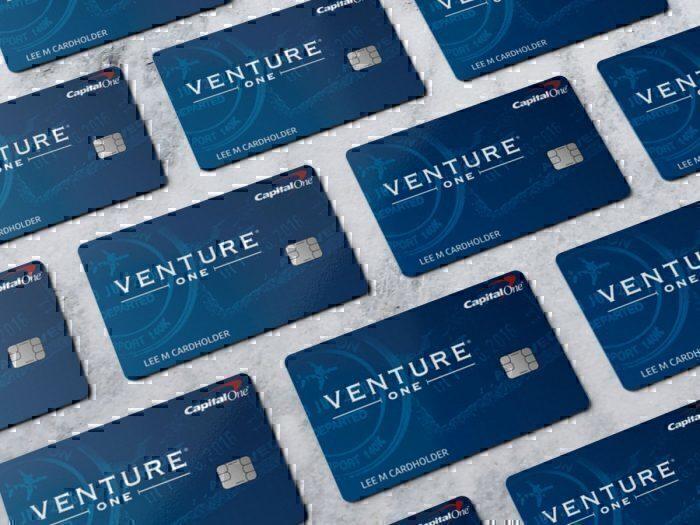 Capital One VentureOne card.