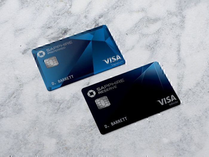 Chase Sapphire Preferred and Reserve Cards