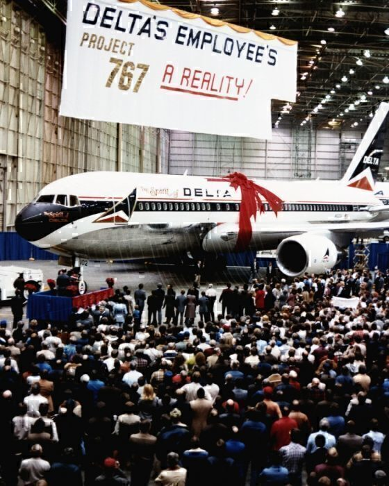How Delta Employees Bought The Airline A Boeing 767