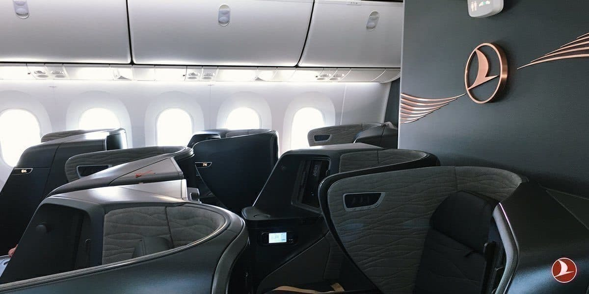 Turkish Airlines A350XWB business class