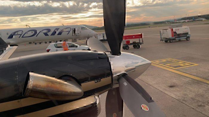 Flight Review: Twin Jet Beechcraft 1900D – Zurich to Lyon