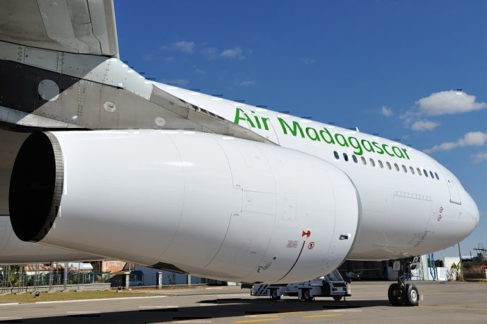 Air Madagascar Operates The Hi Fly A380